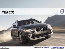 Catálogo del Volvo XC70