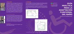 Guía práctica para la adaptación funcional del baño