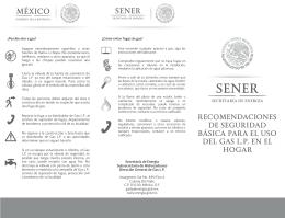 1.recomendaciones de seguridad básica para el uso del gas lp en