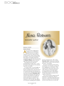 Nora Roberts - Western Cape Government