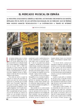 El mercado musical en España