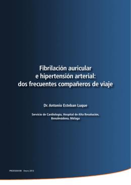 Fibrilación auricular e hipertensión arterial: dos frecuentes