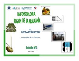 EL REFRACTÓMETRO - Universidad de La Frontera