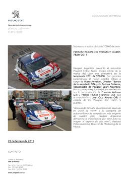 Equipo Peugeot Cobra Team 2011