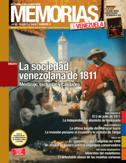 agosto / 2008 / número 4 - Universidad Politécnica Territorial de