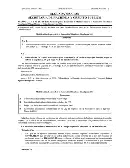 Cantidades 3: Ley del Impuesto al Valor Agregado. DOF 20-01-2003