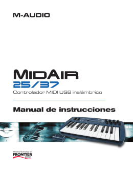 MidAir 25 Manual de Usuario