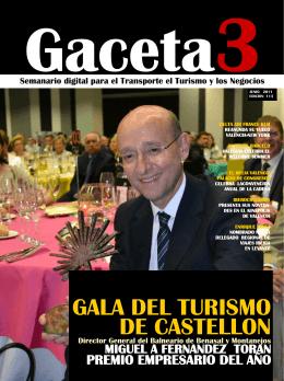 GALA DEL TURISMO DE CASTELLON