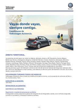 Condiciones Volkswagen Asistencia