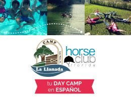tu DAY CAMP en ESPAÑOL