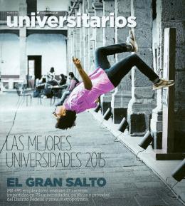 Ranking Reforma Mejores Universidades 2015 - FP 1er