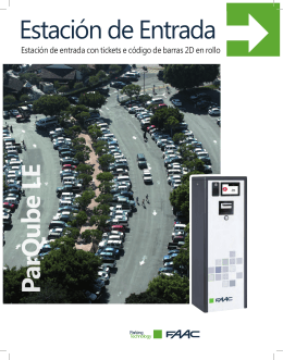 FAAC - ParQube LE - HUB Parking Technology