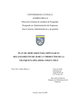 Tesis en pdf - Libros, Revistas y Tesis