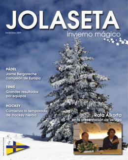 invierno mágico - Real Club Jolaseta
