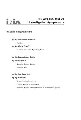 Fpta 11. Estudios en domesticación y cultivos de especies