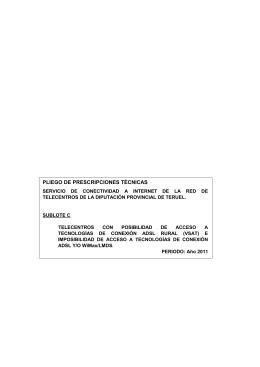 Pl.Cond.Técnicas Telecentros Lote n1 sublote C