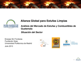 Situación del Sector - Global Alliance for Clean Cookstoves