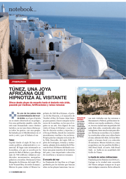 Tunez, una joya africana que hipnotiza al visitante