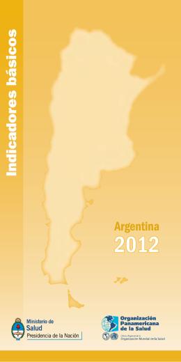 Indicadores Básicos 2012