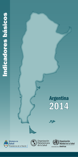 Indicadores básicos Argentina 2014