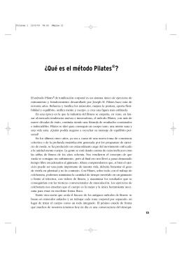 ¿Qué es el método Pilates®?