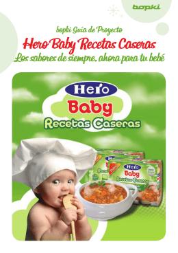 Hero Baby Recetas Caseras