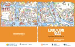 Educación Vial - Escritorio del docente