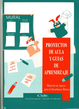 PROYECTOS DE AULA Y GUIAS APRENDIZAJE