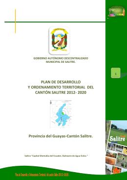 2020 Provincia del Guayas-Cantón Salitre.