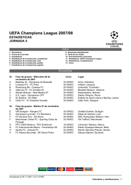 UEFA Champions League 2007/08