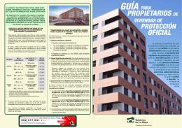 Guía para propietarios de vivienda de protección oficial