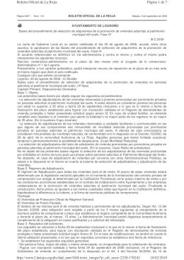 Bases de la Fase 4 - Ayuntamiento de Logroño