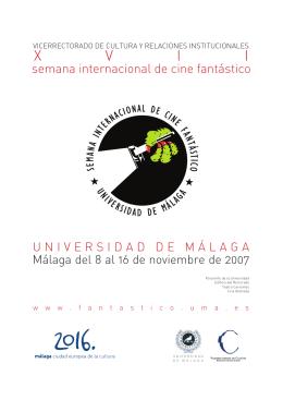 Revista - Universidad de Málaga