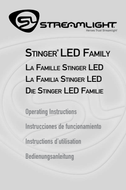 STINGER® LED FAMILY