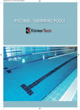 PISCINAS - SWIMMING POOLS