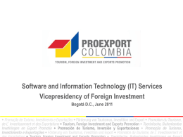Software and Information Technology (IT) Services Vicepresidency