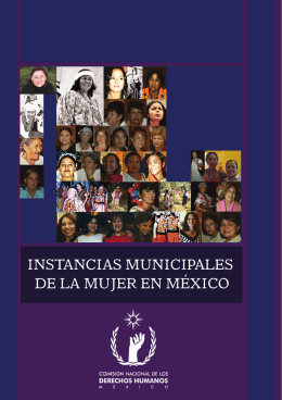 Instancias municipales de la mujer