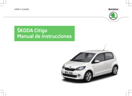 ŠKODA Citigo Manual de instrucciones