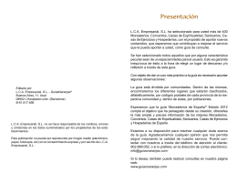 Libro de Monasterios 2012