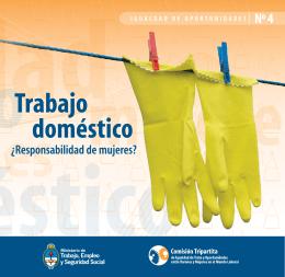Trabajo doméstico - Ministerio de Trabajo, Empleo y Seguridad Social