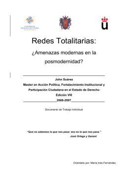 0016 Suarez - Redes totalitarias