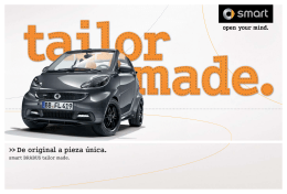 Catálogo - smart BRABUS tailor made 2014