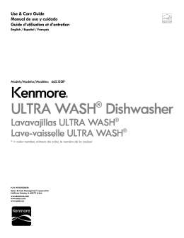 Kenmore® ULTRA WASH Dishwasher