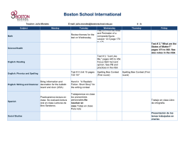 Boston School International