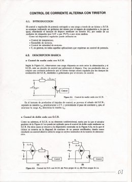 16. Control de CA con SCR
