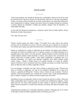 Page 1 EXPLICACIÓN ………… Varias horas después, diez shinobi