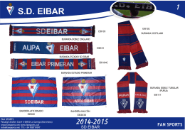 Catalogo SD Eibar 2015.cdr