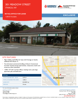 View Flyer #1 for 301 Meadow Street South, Ithaca, NY