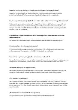 Preguntas Frecuentes sobre Cooperativas