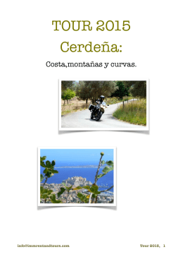Cerdeña 2015 - Imm Rent & Tours
